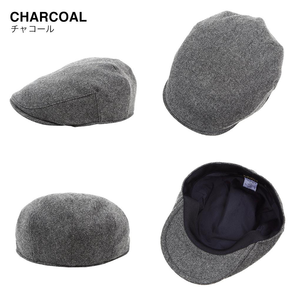 チャコール 帽子