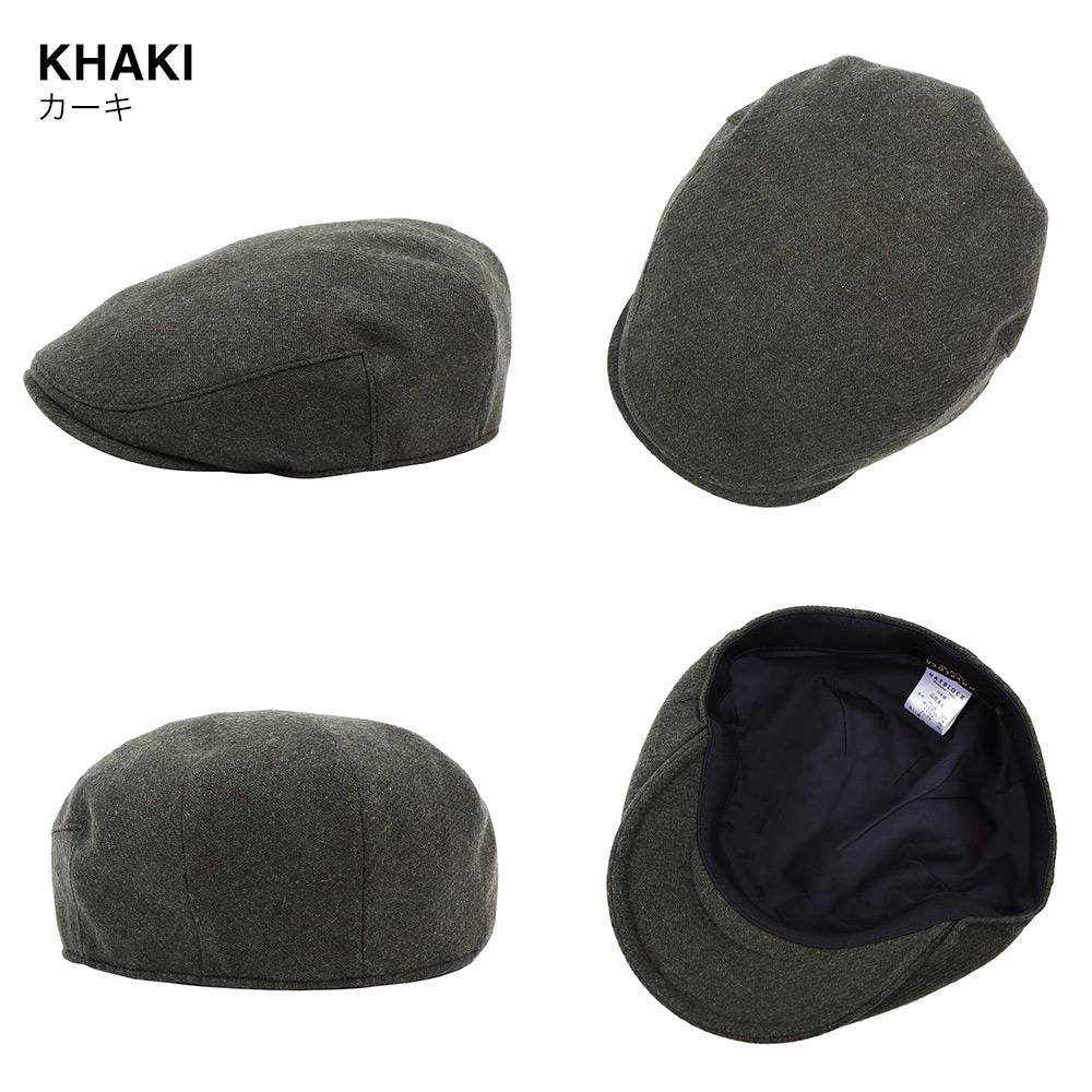 カーキ 帽子