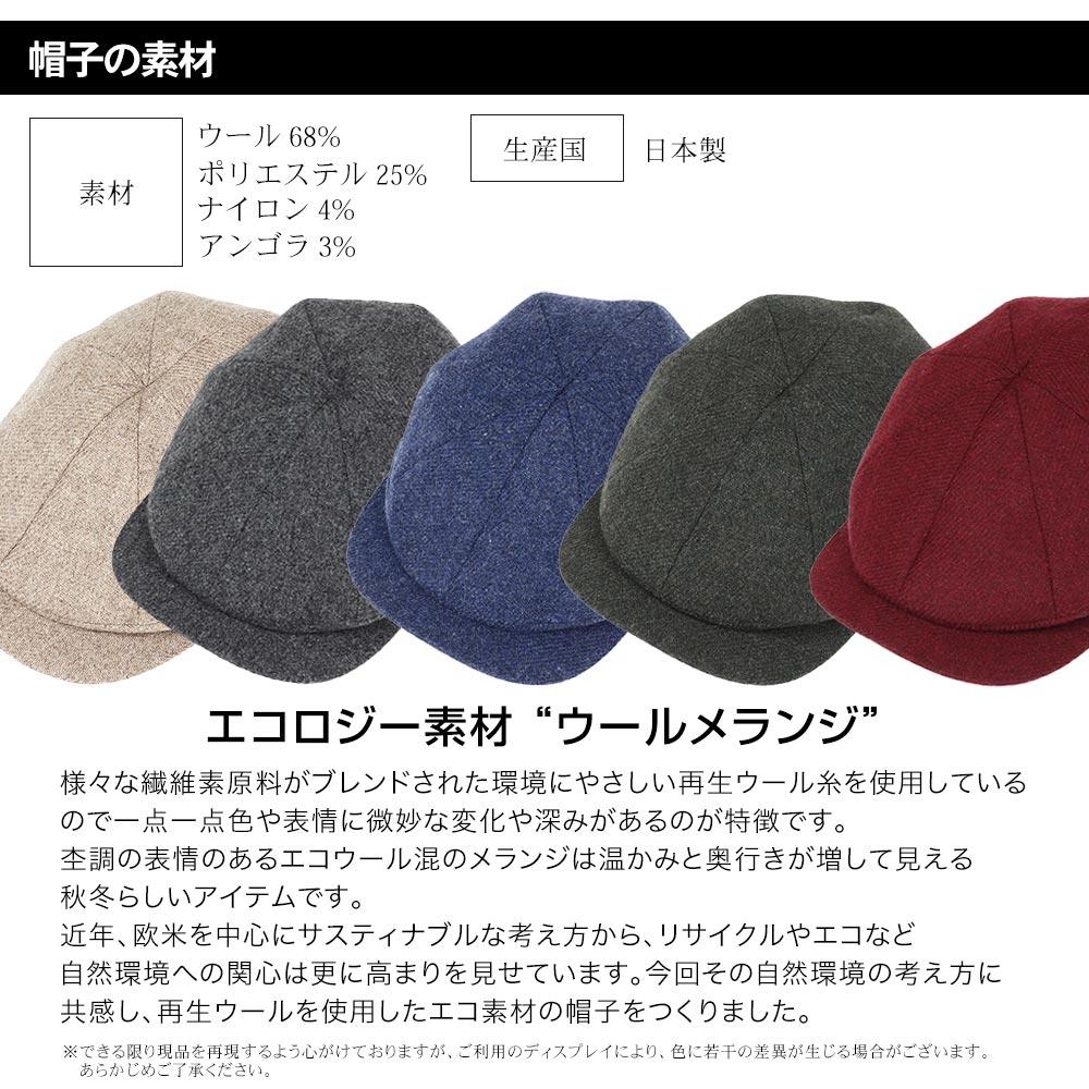 帽子の素材